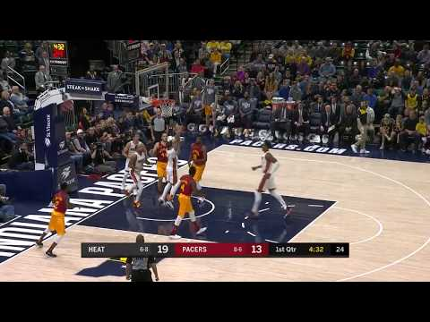 Indiana Pacers Highlights vs Miami Heat - Nov. 16, 2018