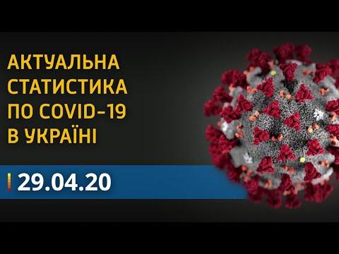 Коронавирус в Украине 29 апреля - статистика COVID-19   Вікна-Новини