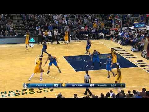 Indiana Pacers Highlights vs Dallas Mavericks - December 16, 2015 - 2015-16 NBA Season