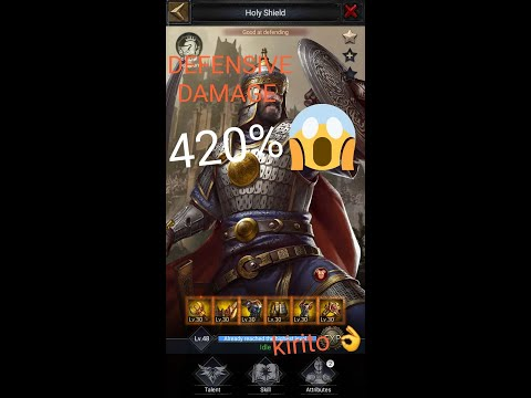 #cokexclusive Clash Of Kings: How To Get 420%+ Defensive Damage While Defending The Castle? Really ?