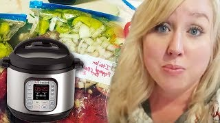 50 Large Family Keto Instant Pot Freezer Meals | Low Carb, THM, Gluten Free | PART ONE