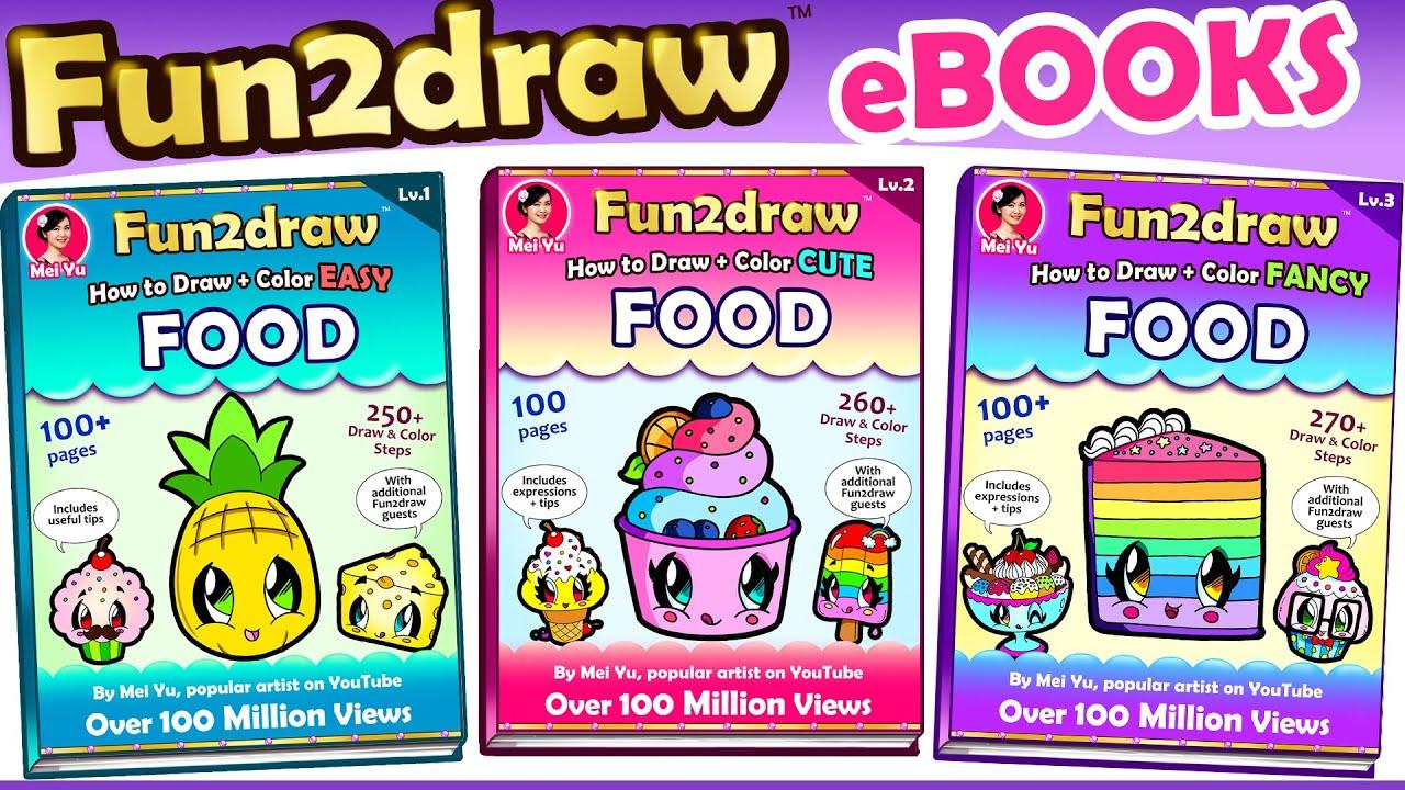 New Fun2draw Food Ebooks Birthday Surprise ★ Youtube