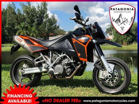 2006 KTM 950 SM WALK AROUND