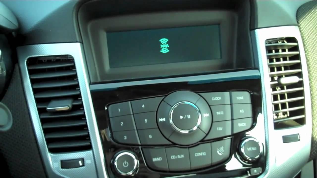 2011 Chevrolet Cruze Interior Review Youtube
