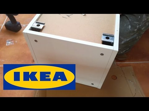 Ikea Metod Assembly Kitchen Wall Cabinet Youtube