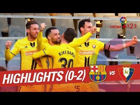 Resumen de FC Barcelona B vs Osasuna (0-2)