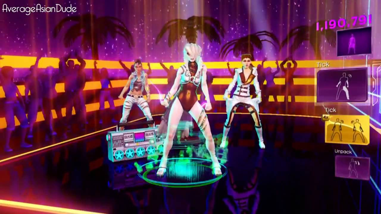 Dance Central 3 Down On Me Hard 100% 5 Gold Stars DLC ...
