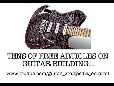 Guitar Encyclopedia | Electric Guitar builder construction