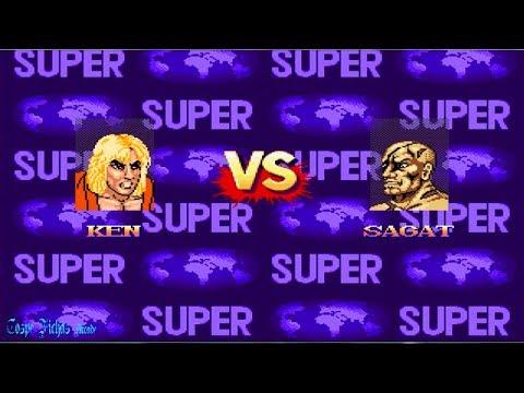 Super Street Fighter 2 - Ken (Nintendo 8 Bits) Mugen