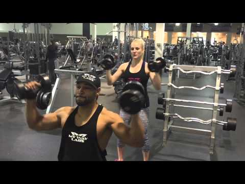 My Way Labs Bobby And Emily Shoulder Workout