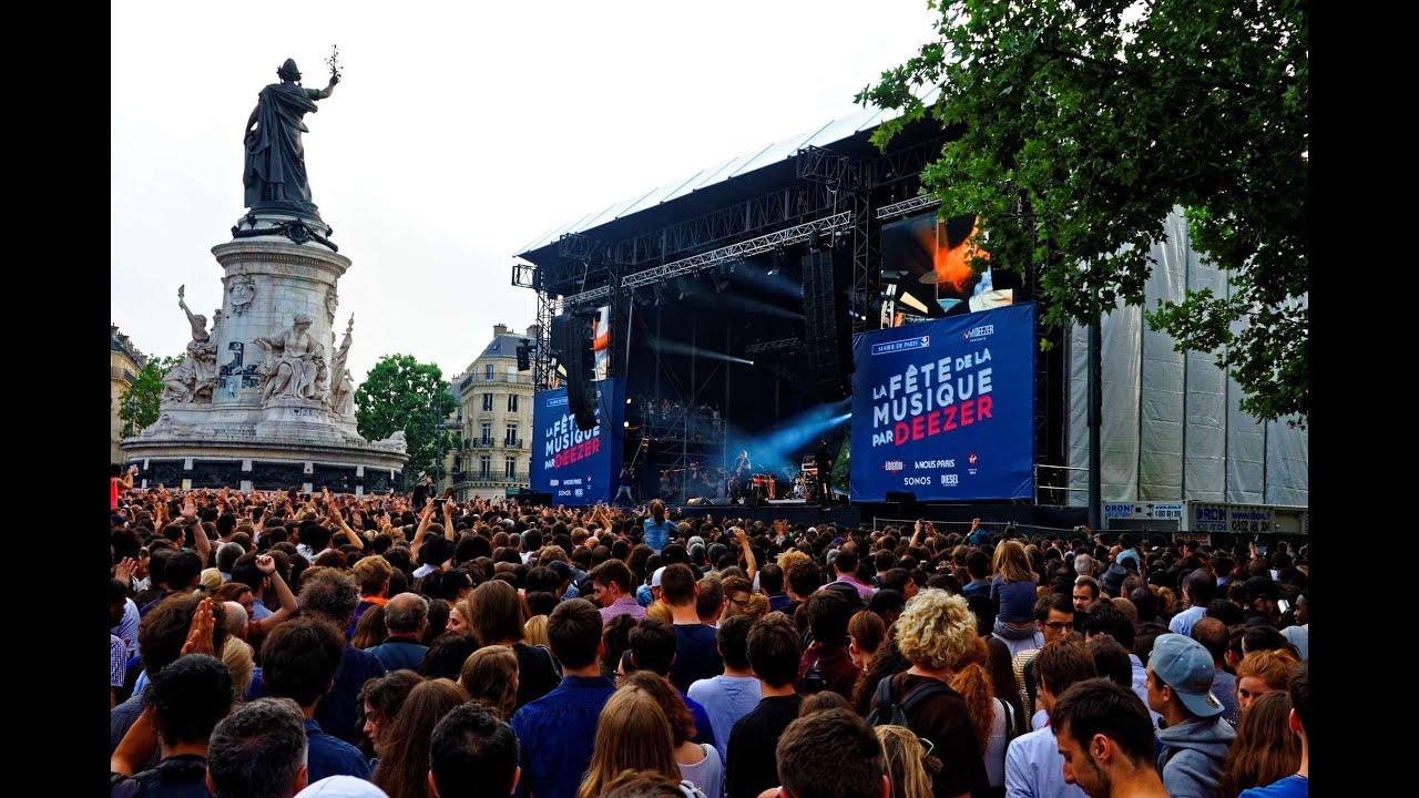 Fete De La Musique  A Paris