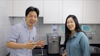 한국와서 깜짝 놀란 음식물 처리기 (ft. 스마트카라 …