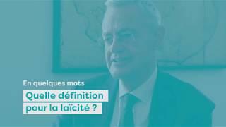 La laïcité en quelques mots - Jean-Louis Bianco