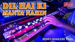Dil Hai Ki Manta Nahin || Banjo Instrumental Cover || Shree Rajal Music