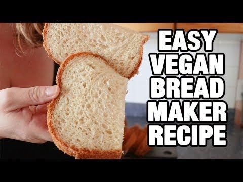 VEGAN Bread Machine Recipe | EASY And HANDS OFF | Baking Vegan Bread