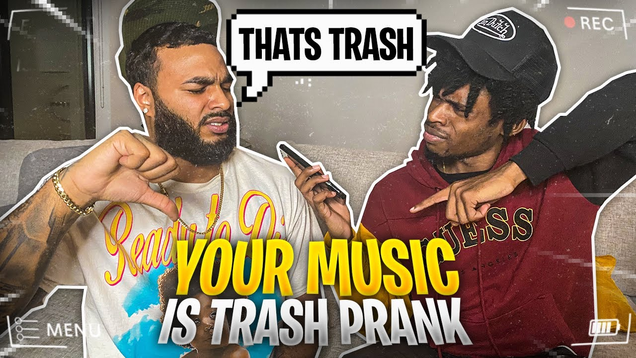 TELLING MODDAGOD THAT HIS MUSIC IS TRASH PRANK ??