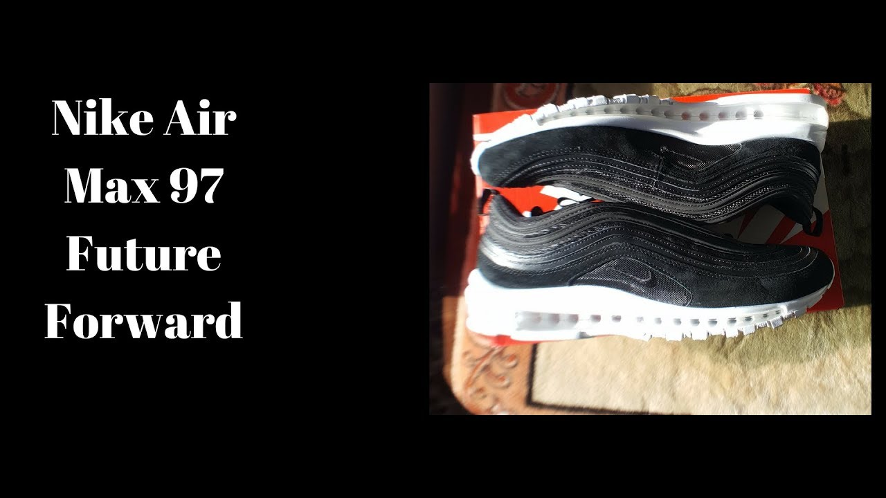 002ff639a44 Nike Air Max 97 Future Forward Black - YouTube