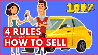 How To Sell | Tнe 4 Rules Of Selling A Product Or Service