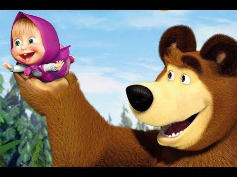 masha og bjørnen dansk tale