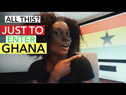 Kotoka International Airport Ghana NEW Arrival Protocols | SAME DAY TESTING?? WHAT?? | Saasy Funke