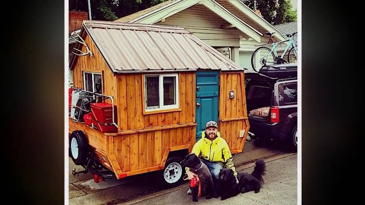 Fabulous Tiny House On Wheels From Converted Pop Up