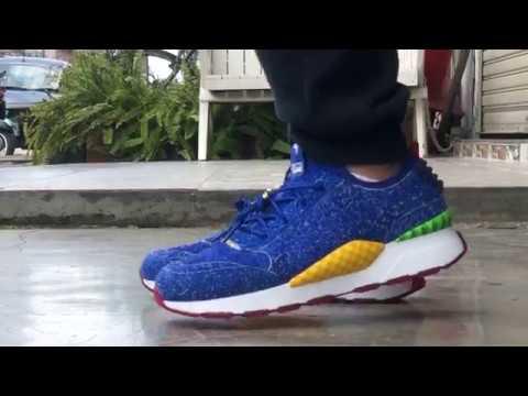 cea0b3d6c51 Puma RS-0 X SEGA Sonic Unboxing + On Feet - YouTube