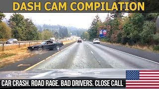 Car Crashes in America (USA & CANADA) bad drivers, Road Rage 2017 # 8