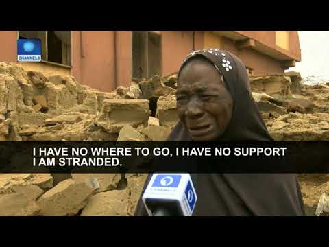 Urban Renewal: Ogun Govt Demolishes Illegal Structures In Alagbole Area