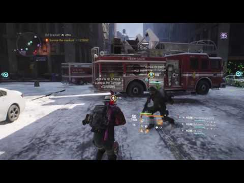 The Division Clean Up Crew. Agent Hunting