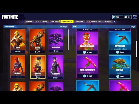 How To View ALL Items In The Fortnite: Battle Royale Item Shop!