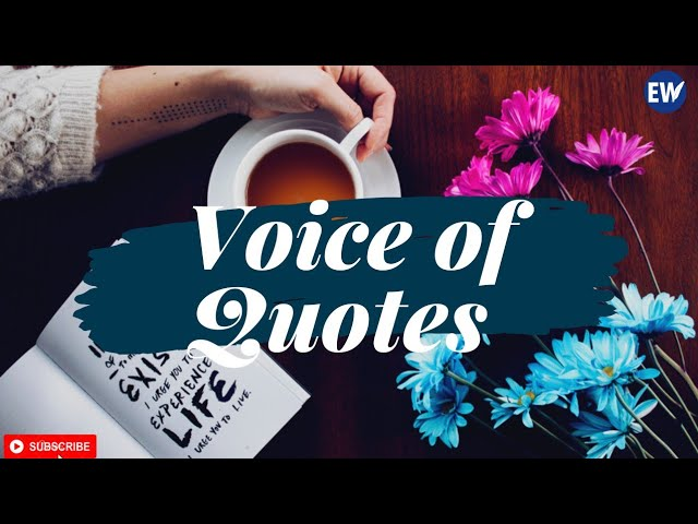 Voice of Quotes [001]