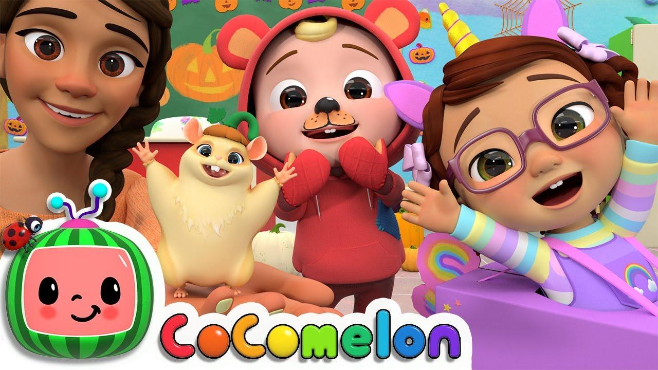 Halloween At School Song   CoComelon Nursery Rhymes & Kids Songs