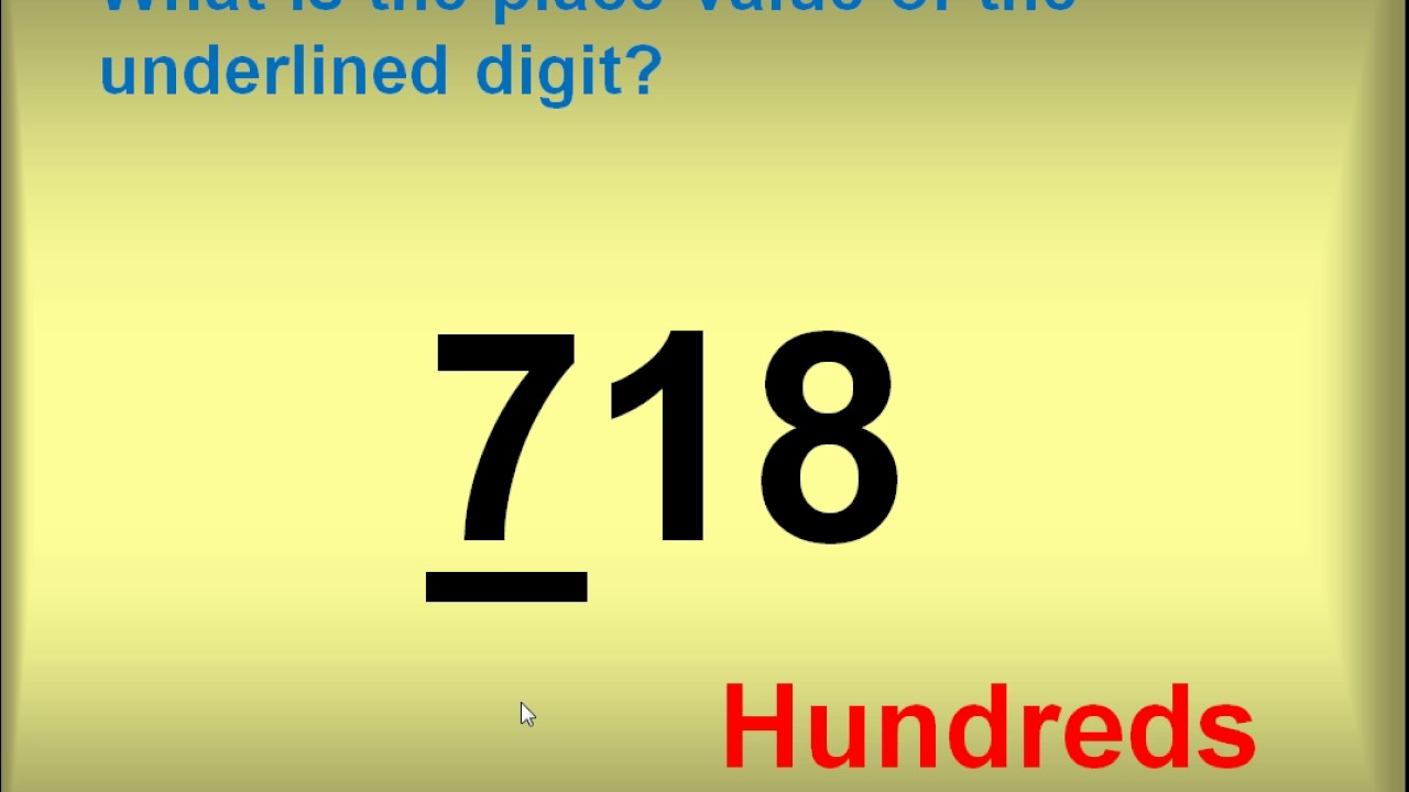 Place Value 3 Digit Numbers Youtube How to read three digit numbers