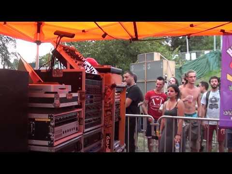 garance reggae festival 2014 (king shiloh inna di dance)