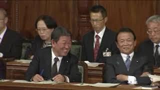 2018年10月29日 枝野幸男(立憲民主党)、稲田朋美(自由民主党)、玉木...