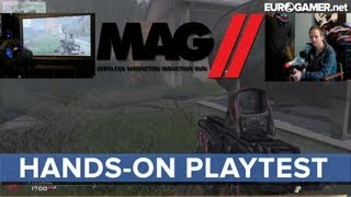 MAG II Gun Controller - Hands-on Playtest - Eurogamer