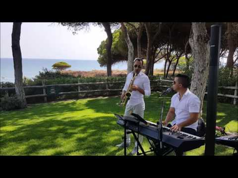 2Exclusive Piano, singer and Sax  Wedding welcome reception  Pine cliffs Resort 2016