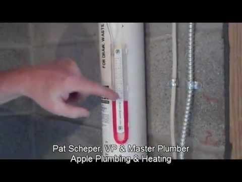 Apple Plumbing Amp Heating Installs A Radon Mitigation