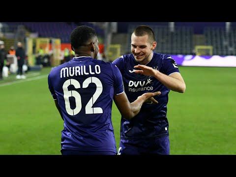 Anderlecht Waregem Goals And Highlights