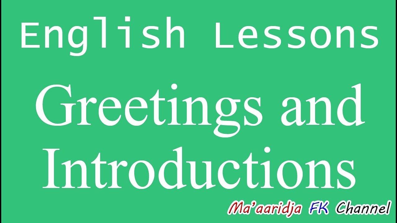 Materi bahasa inggris sd greetings and introduction salam dan greetings unusida mahasiswa m4hsunfo