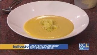 Chef Ian Denney Brings The Spice With Jalapeno Pear Soup With Spaghetti Squash