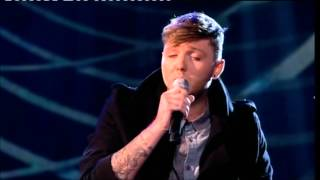 Live Show #2 James Arthur sings Mary J Blige