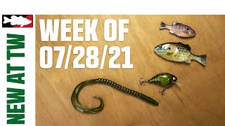 What's New at Tackle Warehouse ICAST Releases and First Look Baits Pt. 2 - 7/28/21