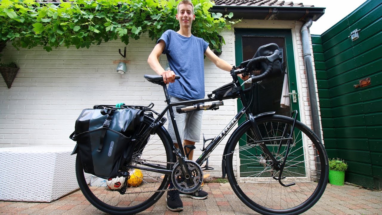 Trek 520 Touring Bicycle Overview Youtube