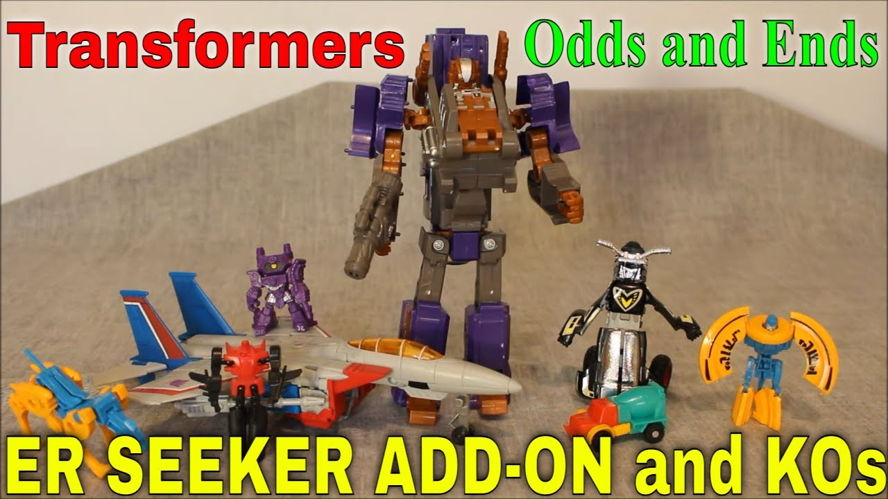 Odds and Ends: KOs, ER Seeker Landing Gear Review by GotBot