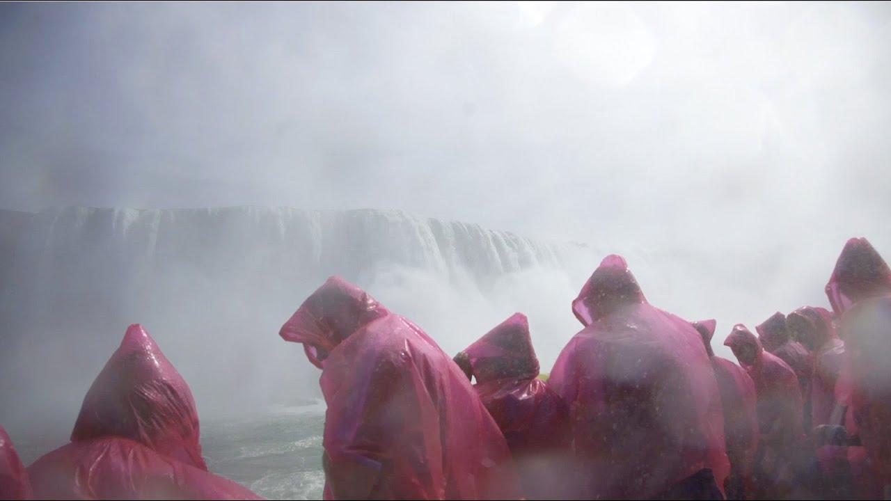 Die Niagarafälle Hautnah Youtube
