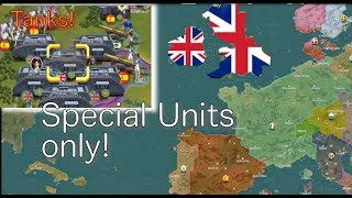 European War 6: British Special Units only!