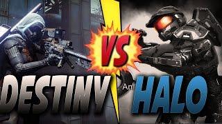 DESTINY VS HALO & What Is bad In Destiny (Halo Destiny Comparison)