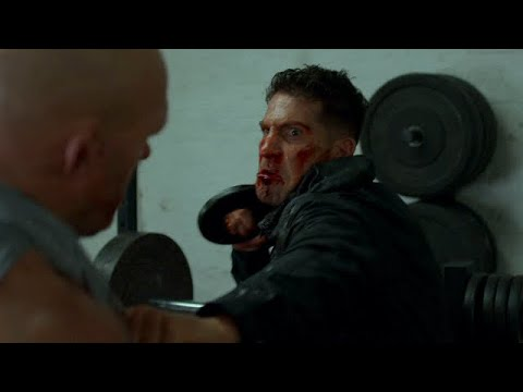 Download Punisher vs Russian Gym Fight Scene   The Punisher (2x5) [HD]