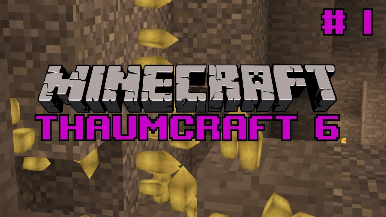 Let's do Thaumcraft 6 - `Starting out` Ep1